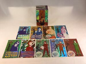 CHARLIE /& THE CHOCOLATE FACTORY Johnny Depp Card Set w// RETAIL CHASE M1-M9