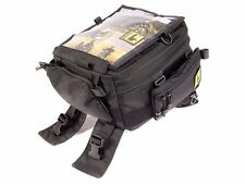 Wolfman Rainier Tank Bag Universal Mount Black luggage storage pack M217
