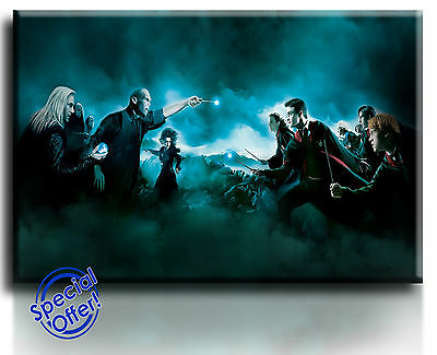 Wall Art Canvas Picture Print of Harry Potter Framed  Ready to Hang