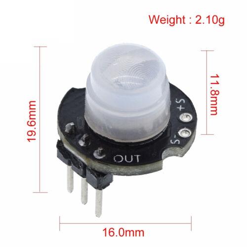 1X Mini MH-SR602 Infrared Motion Sensor Detector Module SR602 PIR for Arduino