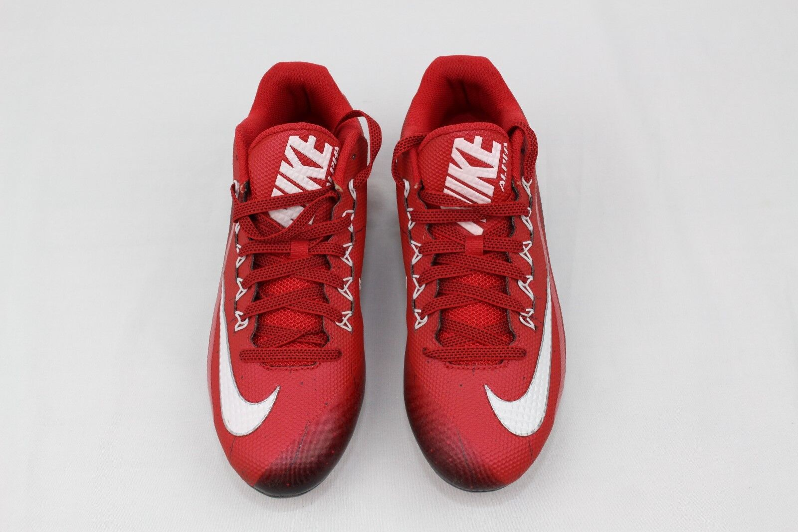 sale retailer 8482c 634b8 ... NIKE Alpha Pro Pro Pro 2 Low Red White Molded Football Cleats Men s  Sz10 made in ...