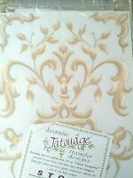 Qvc Scroll Mural Wall Paper Border By Tarantelli Designs