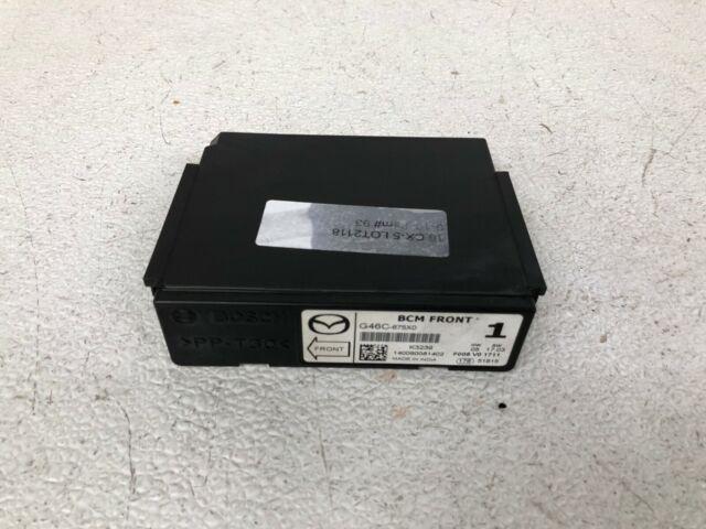 2012-2014 Mazda CX5 CX-5 bcm body control module G46C-675X0
