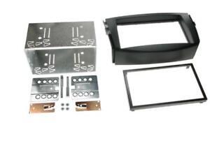 For Toyota RAV4 Car Radio Panel Mounting Frame Double Din 2-DIN Black