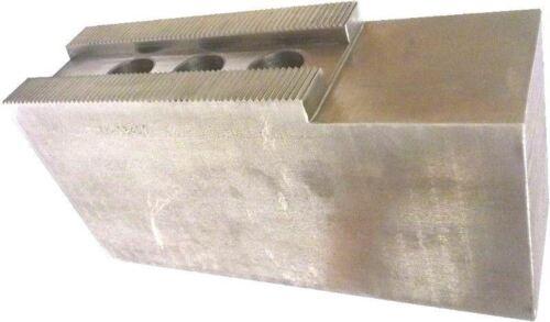 """K3-21400F STEEL SOFT JAWS FOR 3.0mm x 60° SERR 18-21/"""" CHUCK W//A 4/"""" HT 3PC SET"""