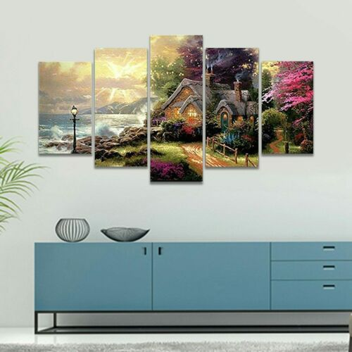 Home Decor  Unframed Modern Art Oil Paintings Wall Art Pictures Living Room