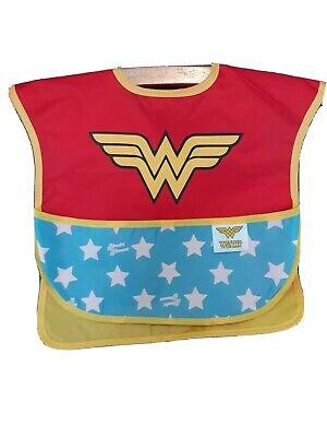 Bumkins DC Comics Wonder Woman SuperBib with Cape 6-24 Months Baby Bib