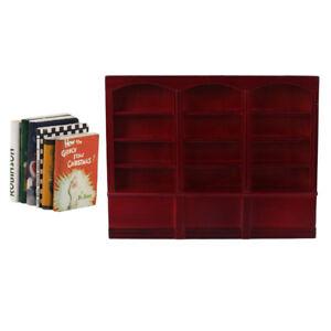 Armadio-in-Legno-in-Miniatura-con-Libri-per-Casa-delle-Bambole-Scala-1-12