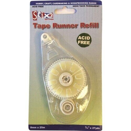 Stix2 cinta permanente Runner Recarga8mm X 25m