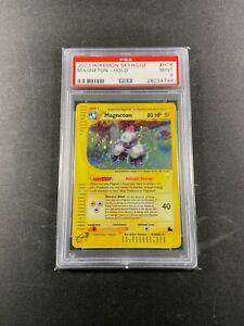 Pokemon Skyridge MAGNETON Holo PSA 9 H18/H32 2003 Mint