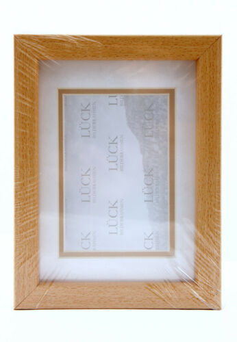 2 Stück Bilderrahmen Lück 13x18 Holz NEU