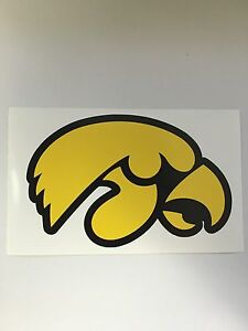 Set-Of-2-Iowa-Hawkeyes-NCAA-Vinyl-Bumper-Sticker-Decal-Truck-Wall-Car-12