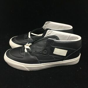 97af458d64 VANS VAULT Men s OG Half Cab LX Leather Black DEADSTOCK VN0A3DP6L3A ...