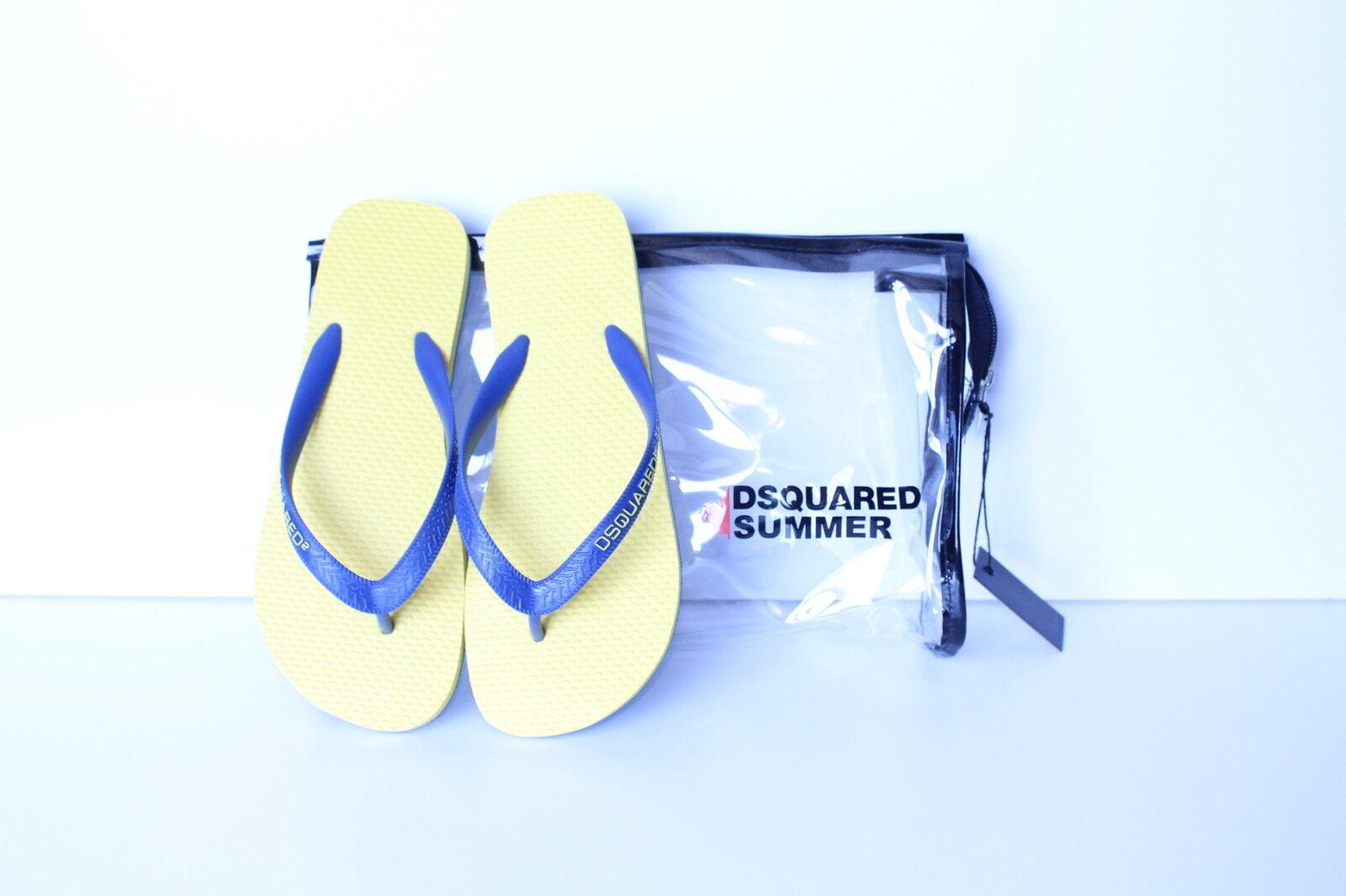 DsquaROT2 flip-flops blau (2) mit hintergrund gelb (2) blau 57ba57