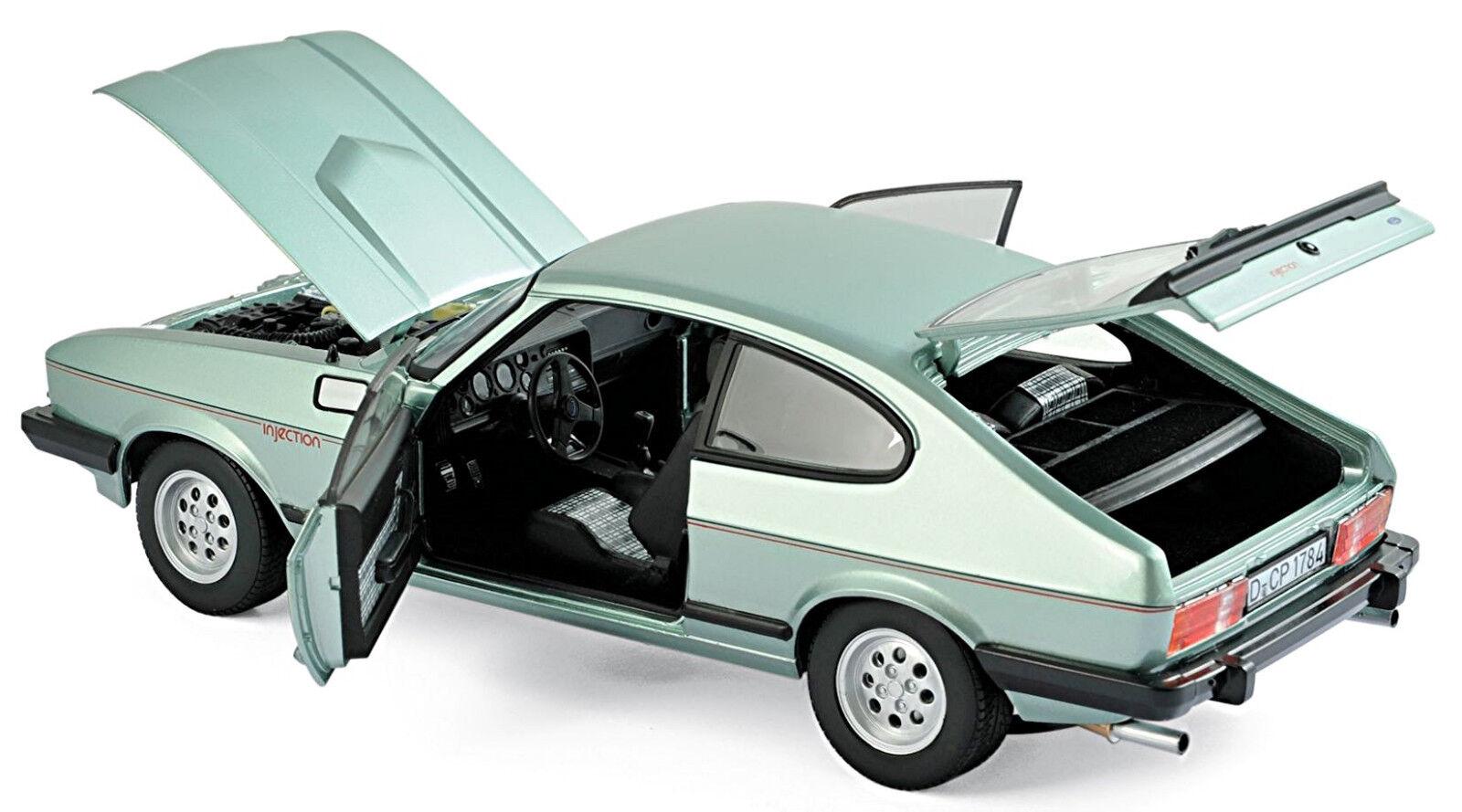 Ford Capri Mk. III III III 2,8 Injection 1982 Crystal Grün Metallic 1 18 Norev  | Elegante Und Stabile Verpackung  968cc8