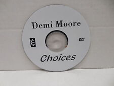 Choices Rare OOP DVD Movie NO CASE Demi Moore Victor French Football Drama