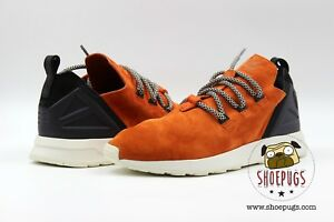 0d143a55f4e Adidas ZX Flux ADV X size 8.5 w  Box orange crachi black boost ...