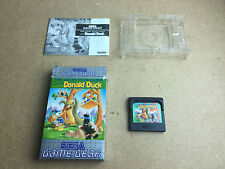The Lucky Dime Caper Donald Duck - SEGA Game Gear (GG) TESTED/WORKING UK PAL
