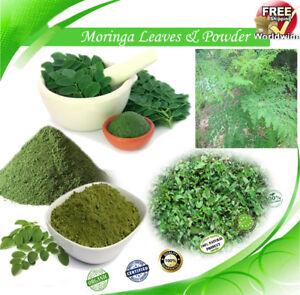 Details About A Grade Moringa Oleifera Leaf Powder 100 Pure Natural Plant Powder Beauty New