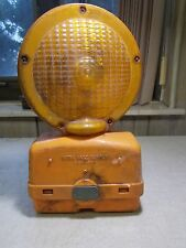 Work Safe Supply Construction Safety Barricade Signal Light With Battery