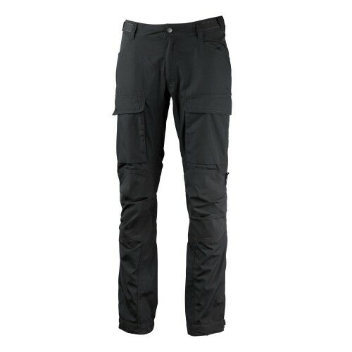 Lundhags Autentic II WS Pant Long Granit Charcoll Ladies Treking Trousers grå