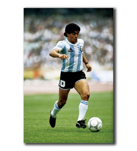 T-674 Art Poster Maradona Football Star Hot Silk 24x36 27x40IN
