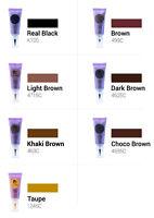 Semi Permanent Makeup Pigments, Luanes Embo Type Set 7 Colors Micropigments Spmu