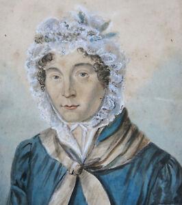 Femme Gouache Femme Beau Coiffe La Portrait Dessin À De Yqr68wY
