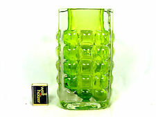 70´s Horst Tüselmann Design Ichendorf glass vase in a very rare colour  22 cm