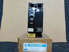 New Nos General Electric 240vac 100amp 2 Pole Molded Case Switch Teb122y100