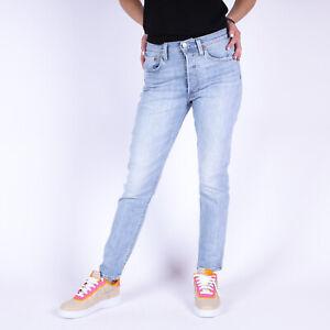 Levi-039-s-501S-Quality-Crafted-Heartbreak-High-Light-blau-Damen-Jeans-25-28