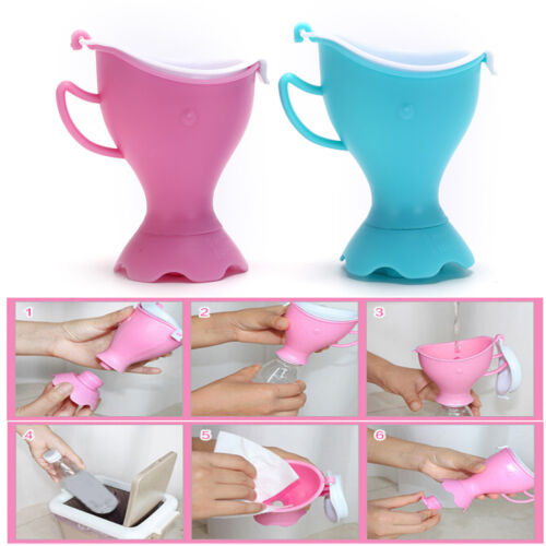 Portable Urinal Funnel Camping Hiking Travel Urine Urination Device-Toilet Mj