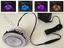Underwater Color changing Led light nail salon pedicure massage spa chair tub