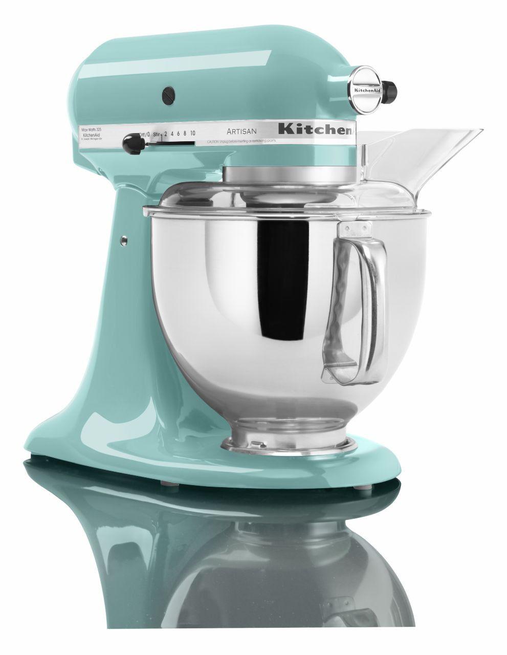 KitchenAid RRK150AQ 5 QT Kitchen Mixer Artisan Series - Aqua Sky | eBay