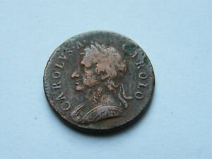 1672 Charles II 2nd Farthing Coin