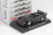 Mercedes-Benz CLK GTR Roadster negro Black 1:64 Kyosho Japón/Minichamps