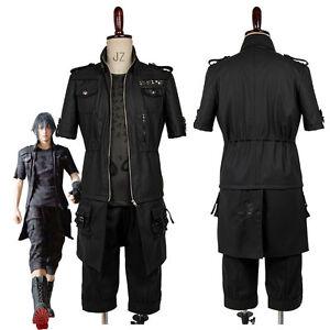 Final Fantasy XV FF15 Noctis Lucis Caelum Noct Cosplay Costume Shirt Jacket Suit