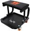 Rolling Creeper Seat Stool Garage Mechanic Chair Work Auto Shop Tool Tray Cart