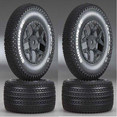 Wheels DTXC3691 NEW DuraTrax Ten SCTE Shotgun Mounted Tires