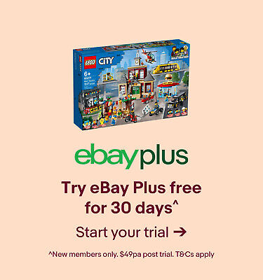 Try eBay Plus free for 30 days^