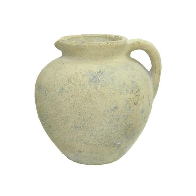 Engelnburg Hochwertige Blumenvase Vase Keramik Grün 22,5x22,5x7,3cm