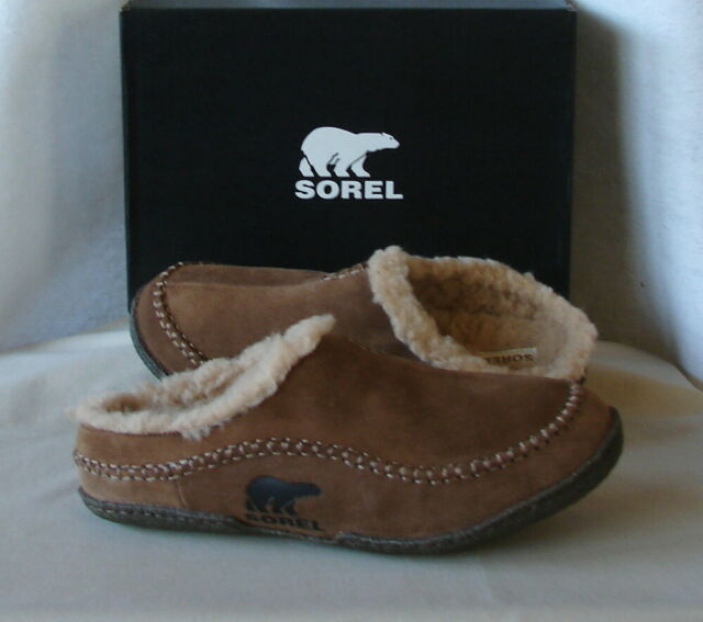 mens sorel slippers sale