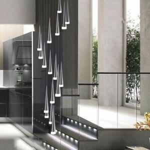 Details About Led Pendant Lights Kitchen Island Dining Room Bar Counter Decoration Cylinder