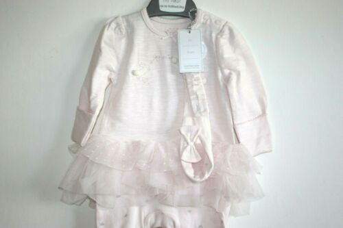 Bébé Filles Tutu Rose Avec Soft Tulle robe et heairdband Set 1-3 mois