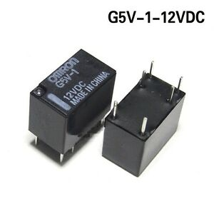 Details about 10pcs 12V Relay G5V-1-12VDC Signal Relay 6 PINs for Omron on