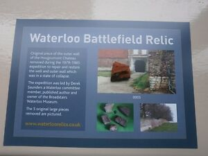 Waterloo-battlefield-relic-piece-of-Hougoumont-wall-with-certificate