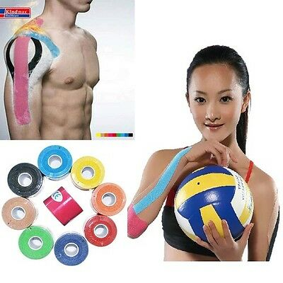 Hot Kinesiology Muscle Tape Sports Athletic Elastic Physio Therapeutic 5cmX5m