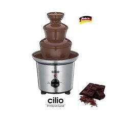 Cilio: brunnen von schokolade elektro für metallbearbeitung e für fondue