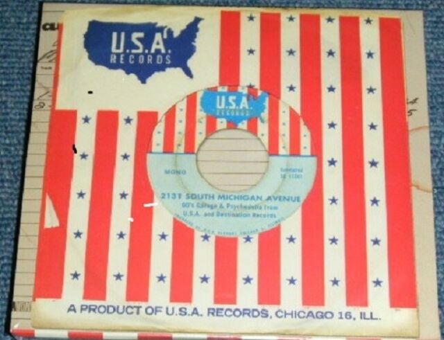 2131 South Michigan Avenue: 60's Garage & Psychedelia from USA 2CD