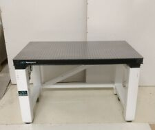 Tested Newport Optical Table Rolling Pneumatic Isolation Bench Breadboard
